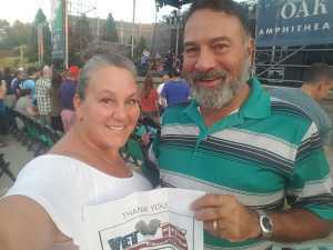 Emilio attended SiriusXM Jamon Presents: Moe. And Blues Traveler With G. Love - Pop on Aug 6th 2019 via VetTix