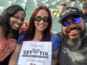 Juan attended SiriusXM Jamon Presents: Moe. And Blues Traveler With G. Love - Pop on Aug 6th 2019 via VetTix