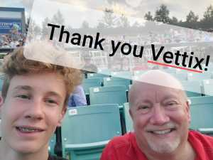 Donnie attended SiriusXM Jamon Presents: Moe. And Blues Traveler With G. Love - Pop on Aug 6th 2019 via VetTix