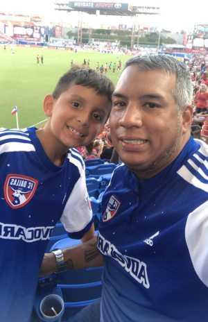 esteban attended FC Dallas vs. Sevilla - MLS Friendship Match on Jul 17th 2019 via VetTix