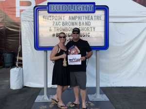 Damian attended Zac Brown Band: The Owl Tour on Jul 25th 2019 via VetTix