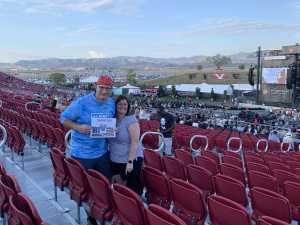 Robert attended Zac Brown Band: The Owl Tour on Jul 25th 2019 via VetTix