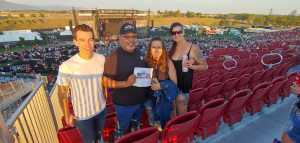 Carlos attended Zac Brown Band: The Owl Tour on Jul 25th 2019 via VetTix
