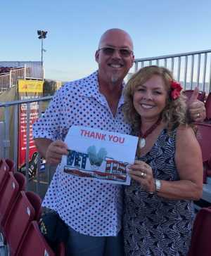 Marc attended Zac Brown Band: The Owl Tour on Jul 25th 2019 via VetTix