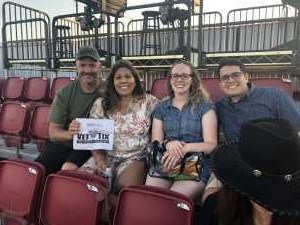 jason attended Zac Brown Band: The Owl Tour on Jul 25th 2019 via VetTix