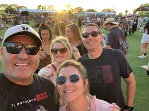 Jerry attended Zac Brown Band: The Owl Tour on Jul 25th 2019 via VetTix