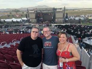 Ronald attended Zac Brown Band: The Owl Tour on Jul 25th 2019 via VetTix