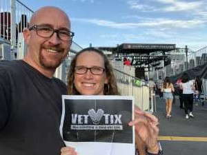 Matthew attended Zac Brown Band: The Owl Tour on Jul 25th 2019 via VetTix