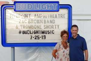 Dennis attended Zac Brown Band: The Owl Tour on Jul 25th 2019 via VetTix