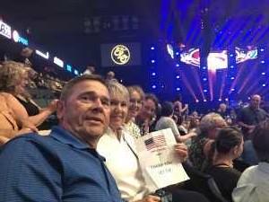 John attended Jeff Lynne's Elo With Special Guest Dhani Harrison - Pop on Jul 23rd 2019 via VetTix