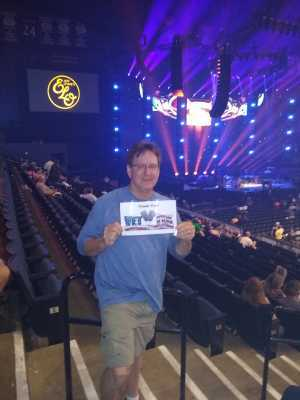Robert attended Jeff Lynne's Elo With Special Guest Dhani Harrison - Pop on Jul 23rd 2019 via VetTix