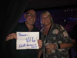 Anthony attended Jeff Lynne's Elo With Special Guest Dhani Harrison - Pop on Jul 23rd 2019 via VetTix