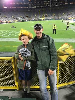 Jim attended Green Bay Packers vs. Kansas City Chiefs - NFL Preseason on Aug 29th 2019 via VetTix