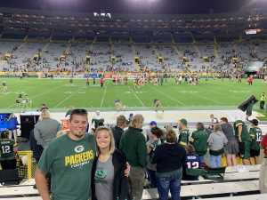 Andrew attended Green Bay Packers vs. Kansas City Chiefs - NFL Preseason on Aug 29th 2019 via VetTix