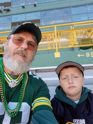 Jack attended Green Bay Packers vs. Kansas City Chiefs - NFL Preseason on Aug 29th 2019 via VetTix