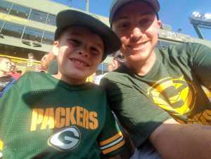 James attended Green Bay Packers vs. Kansas City Chiefs - NFL Preseason on Aug 29th 2019 via VetTix