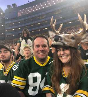 Steven attended Green Bay Packers vs. Kansas City Chiefs - NFL Preseason on Aug 29th 2019 via VetTix