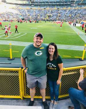 Ryan attended Green Bay Packers vs. Kansas City Chiefs - NFL Preseason on Aug 29th 2019 via VetTix