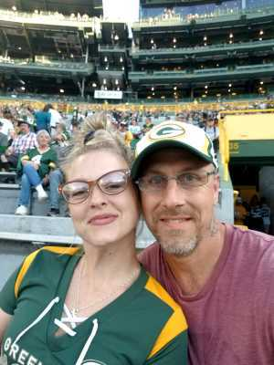 Joshua attended Green Bay Packers vs. Kansas City Chiefs - NFL Preseason on Aug 29th 2019 via VetTix