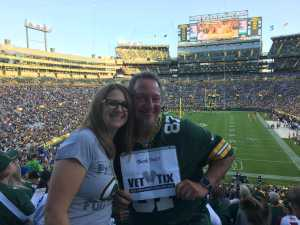 Mark attended Green Bay Packers vs. Kansas City Chiefs - NFL Preseason on Aug 29th 2019 via VetTix