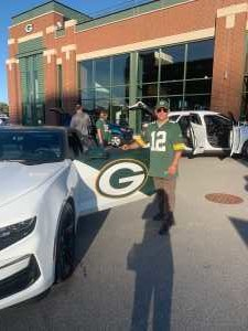 Richard attended Green Bay Packers vs. Kansas City Chiefs - NFL Preseason on Aug 29th 2019 via VetTix