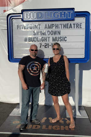 Keith attended Shinedown: Attention World Tour on Jul 21st 2019 via VetTix