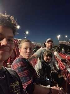 Dustin attended Shinedown: Attention World Tour on Jul 21st 2019 via VetTix