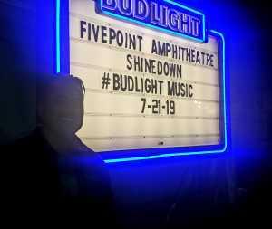 Paul attended Shinedown: Attention World Tour on Jul 21st 2019 via VetTix