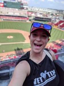 Hannah attended Cincinnati Reds vs. Colorado Rockies - MLB on Jul 28th 2019 via VetTix