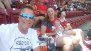 Shawn attended Cincinnati Reds vs. Colorado Rockies - MLB on Jul 28th 2019 via VetTix