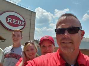 Dan attended Cincinnati Reds vs. Colorado Rockies - MLB on Jul 28th 2019 via VetTix