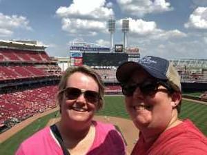 Karin attended Cincinnati Reds vs. Colorado Rockies - MLB on Jul 28th 2019 via VetTix