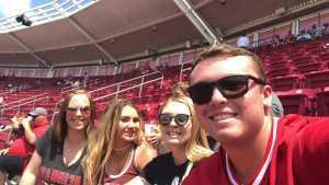 Hayden attended Cincinnati Reds vs. Colorado Rockies - MLB on Jul 28th 2019 via VetTix