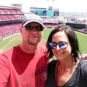 Michelle attended Cincinnati Reds vs. Colorado Rockies - MLB on Jul 28th 2019 via VetTix