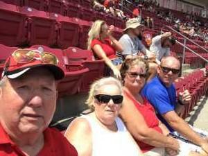 Thomas  attended Cincinnati Reds vs. Colorado Rockies - MLB on Jul 28th 2019 via VetTix