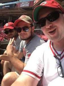Jacob attended Cincinnati Reds vs. Colorado Rockies - MLB on Jul 28th 2019 via VetTix
