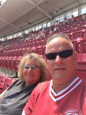 Daniel attended Cincinnati Reds vs. Colorado Rockies - MLB on Jul 28th 2019 via VetTix