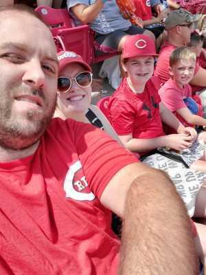 Anthony attended Cincinnati Reds vs. Colorado Rockies - MLB on Jul 28th 2019 via VetTix