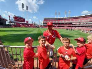 Chris attended Cincinnati Reds vs. Colorado Rockies - MLB on Jul 28th 2019 via VetTix