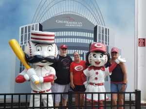 Sean attended Cincinnati Reds vs. Colorado Rockies - MLB on Jul 28th 2019 via VetTix