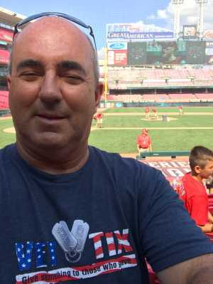 Randolph attended Cincinnati Reds vs. Colorado Rockies - MLB on Jul 28th 2019 via VetTix