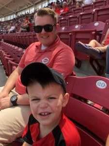 Justin attended Cincinnati Reds vs. Colorado Rockies - MLB on Jul 28th 2019 via VetTix