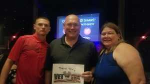 Robert attended Another Journey - at the Rialto Theatre on Aug 9th 2019 via VetTix