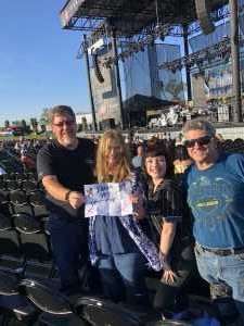 Danny attended A Royal Affair Tour With British Rock Bands: Yes, Asia, John Lodge, Palmer's ELP Legacy Live! on Jul 27th 2019 via VetTix