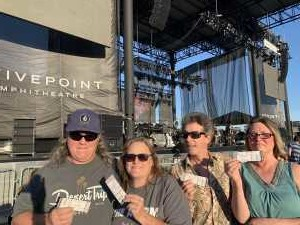 John attended A Royal Affair Tour With British Rock Bands: Yes, Asia, John Lodge, Palmer's ELP Legacy Live! on Jul 27th 2019 via VetTix