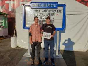 Kevin attended A Royal Affair Tour With British Rock Bands: Yes, Asia, John Lodge, Palmer's ELP Legacy Live! on Jul 27th 2019 via VetTix