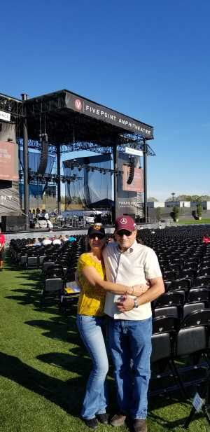 Jamie attended A Royal Affair Tour With British Rock Bands: Yes, Asia, John Lodge, Palmer's ELP Legacy Live! on Jul 27th 2019 via VetTix