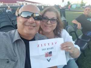 mehran attended A Royal Affair Tour With British Rock Bands: Yes, Asia, John Lodge, Palmer's ELP Legacy Live! on Jul 27th 2019 via VetTix