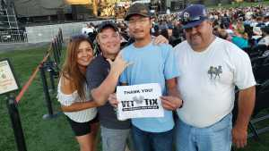 Chanthorn attended A Royal Affair Tour With British Rock Bands: Yes, Asia, John Lodge, Palmer's ELP Legacy Live! on Jul 27th 2019 via VetTix