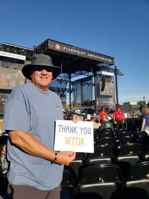 Adam attended A Royal Affair Tour With British Rock Bands: Yes, Asia, John Lodge, Palmer's ELP Legacy Live! on Jul 27th 2019 via VetTix